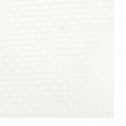 Hârtie perlată 120 g / m2 față unică EMBOS A4 (21 / 29,7 cm) alb -1 bucată.