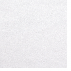 Pearl single-sided embossed paper with motif 120 g / m2 A4 (297x210 mm) white -1 piece