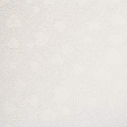 Хартия перлена 120 гр/м2 едностранна релефна със сърца А4 (21/ 29.7 см) бяла -1 брой