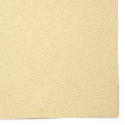 Картон 220 гр/м2 релефен А4 (21x 29.7 см) бежов