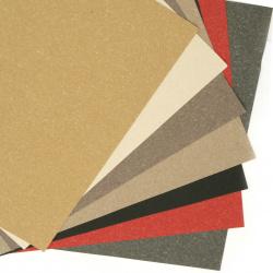Spectacular paper 120 g 18.7x19 cm mixed colors - 10 pieces