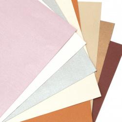 Χαρτί περλέ 120 gr 18,7x19 cm χρώματα μείγμα - 8 κομμάτια