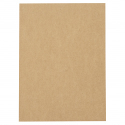 Картон крафт 260 гр/м2 А4 (21x29.7 см) кокос -1 брой