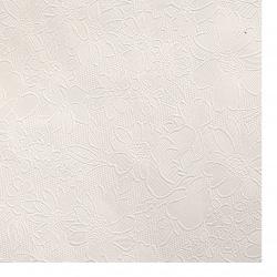 Hartie gofrata pe o singura fața cu motiv 120 g / m2 50x70 cm alb -1 buc