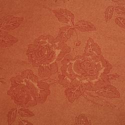 Хартия перлена едностранна релефна с рози 120 гр/м2 50x78 см червен -1 брой