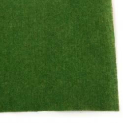 Artificial grass mat with decorating paper 30x30x0.1 cm green -1 piece