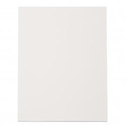 Пенокартон 20x30x0.5 см бял -1 брой