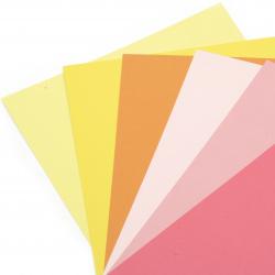 Χαρτόνι 250 g / m2 διπλής όψης λείο A4 (21x 29,7 cm) Citrus Colours 6 χρώματα -6 φύλλα