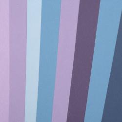 Картон 250 гр/м2 двуцветен гладък А4 (21x 29.7 см) Midnight Skies 6 цвята синьо-лилава гама -8 броя