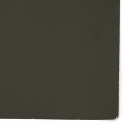 Картон 200 гр/м2 двустранен гладък 52x38 см цвят черен -1 брой