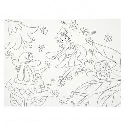 Σετ ζωγραφικής URSUS 33x40 cm 7 διαφορετικά σχέδια -25 φύλλα