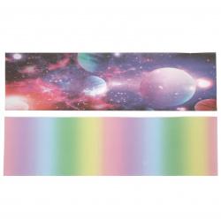 URSUS лист за хартиен фенер полупрозрачен 115 гр/м2 едностранно отпечатан 20x50 см за диаметър 15.3 см асорти -1 брой