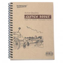 Професионален sketch албум 160 гр спирала А4 32 листа