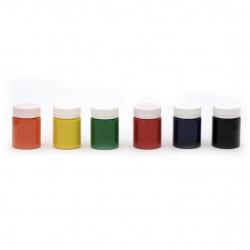 Акрилна боя за батик DECOLA Невская палитра 6 цвята x 40 мл