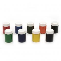 Акрилна боя за батик DECOLA Невская палитра 9 цвята x 40 мл