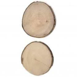 Шайба дърво 90~100x5 мм -2 броя