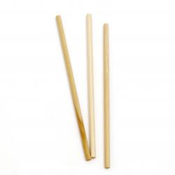 Wooden sticks 150x5 mm color white 20 pieces