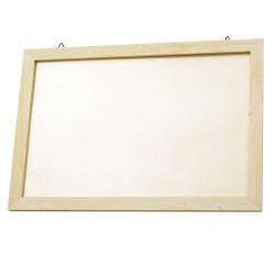Rama foto din lemn 390x267x10 mm pentru agațat