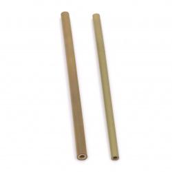 Бамбукови сламки 190±200 мм -2 броя