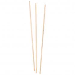 Дървени пръчки 300x3 мм -10 броя