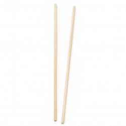 Дървени пръчки 300x5 мм -5 броя