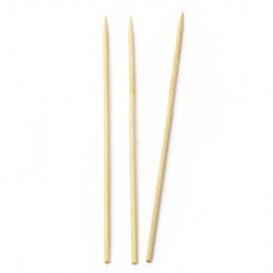 Bamboo sticks 245x4 mm ~ 45 pieces