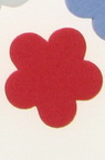 Foam Flowers for Embellishment, Mix Colors /EVA foam material/ 19x2mm - 20 pcs.