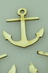 Anchor made of chipboard 30x25x1 mm - 10 pieces