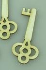 Cheie din carton de bere 45x20x1 mm -4 bucăți