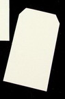 Таг за картичка от бирен картон 33x63 мм -5 броя