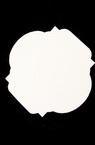 Etichetă pentru felicitare din carton bere 80x75 mm -3 bucăți