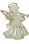 Înger din carton de bere 50x37x1 mm -2 bucăți