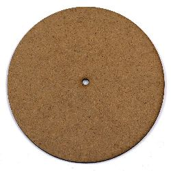 MDF Wooden decoration element clock 20 x 2 mm