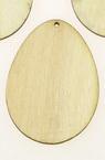 Фигурка дърво за декорация яйце 55x40x3 мм -1 брой