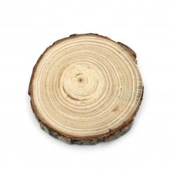Шайба дървена 80~90x12~14 мм -1 брой