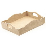 MDF tray for decoration 28x22 cm