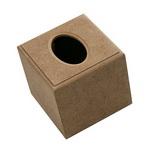 MDF box for napkins 13x13x12 cm