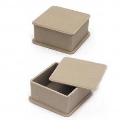 Кутия MDF за декорация 13x13x7 см №NK03