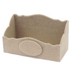 MDF box 30x14x17.5 cm.
