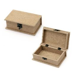 Кутия MDF за декорация 11x17x6 см тип книга
