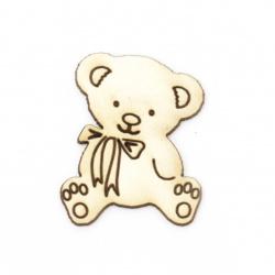 Urs din carton de bere 40x30 mm