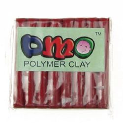 DMO Polymer Clay Dark Red, 50 g