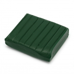 DMO Polymer Clay Dark Green, 50 g
