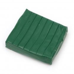 Полимерна глина зелена - 50 грама