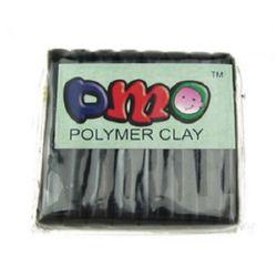 Negru argilat polimer - 50 grame