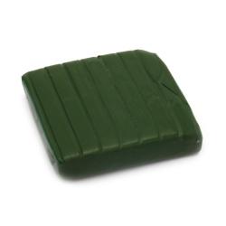 Полимерна глина зелена тревисто - 50 грама