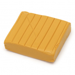 Polymer Clay Dark Yellow, DMO 50g