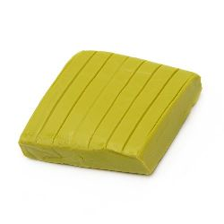 Soft Polymer Clay Olive Color, 50g