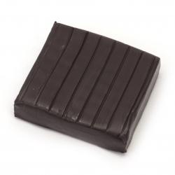 Полимерна глина лилава тъмно - 50 грама