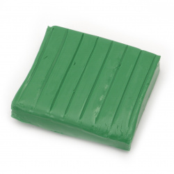 Soft Polymer Clay Green, 50g